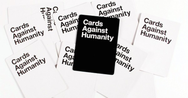 The definitely NSFW game. (Image via Instagram/Cards Against Humanity)